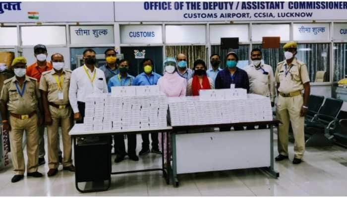 Two held with foreign cigarettes worth Rs 16.8 lakh at Lucknow airport