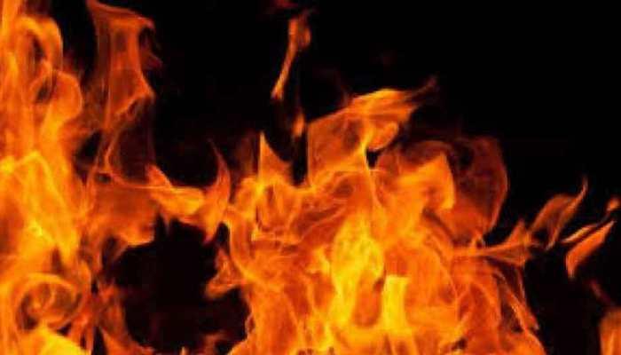 Stalker sets woman on fire in Andhra Pradesh's Vijayawada, she pulls him in; both dead