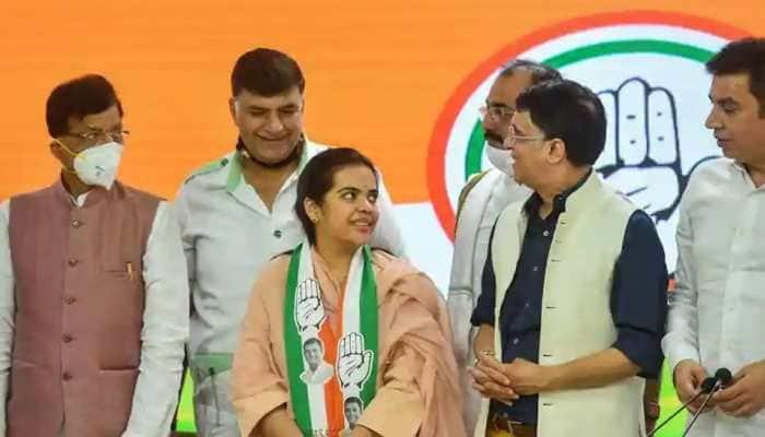 Bihar assembly election 2020: Sharad Yadav's daughter Subhashini joins Congress