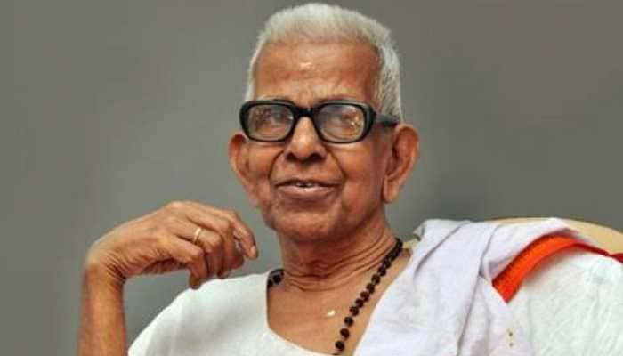 Three weeks after receiving Jnanpith Award, Akkitham Achuthan Namboothiri dies at 94