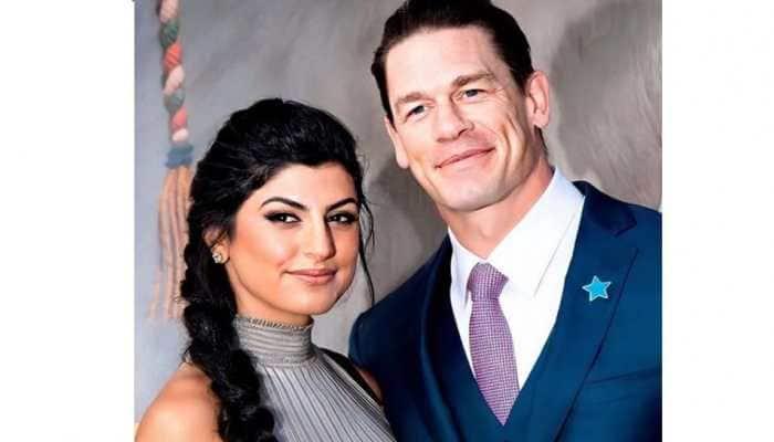 WWE star John Cena ties knot with long-time girlfriend Shay Shariatzadeh