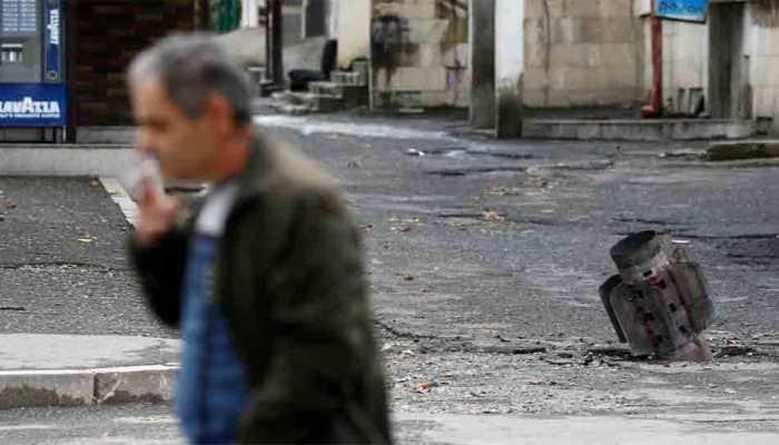 Azerbaijan says 12 killed in missile attack in Ganja, accuses Armenia