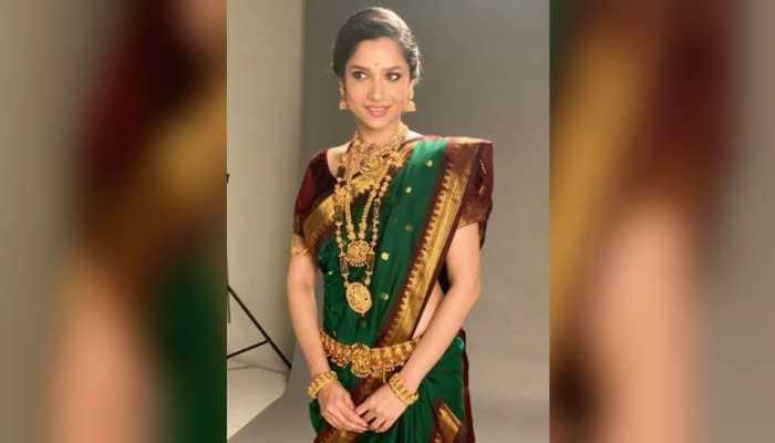 Navratri 2020: Ankita Lokhande dresses up as Maharashtrian bride and makes the internet go wow over her looks