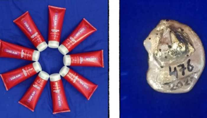 Gold worth Rs 33.3 lakh concealed in vaseline, hair gel seized at Chennai airport