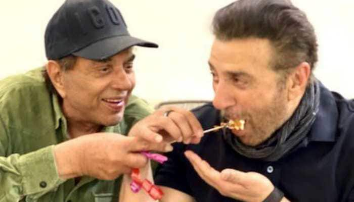 Sunny Deol celebrates birthday 'Deol-style' with father Dharmendra and family