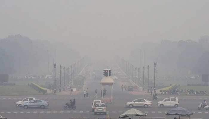 Delhi's air quality improves marginally, likely to turn 'very poor' by Wednesday