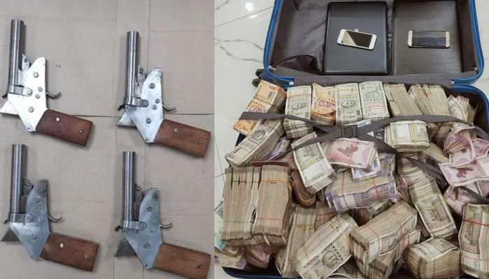Rs 1.62 crore cash, 8 country-made firearms seized by STF in separate raids in Kolkata