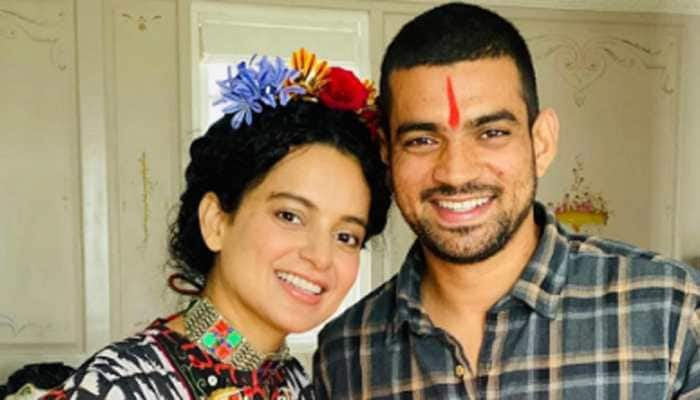Kangana Ranaut's brothers getting married in hometown, Haldi ceremony videos storm internet - Watch