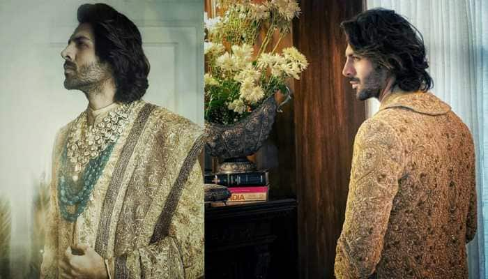 You will be surprised with Kartik Aaryan's new regal 'showstopper' look for Manish Malhotra - Watch