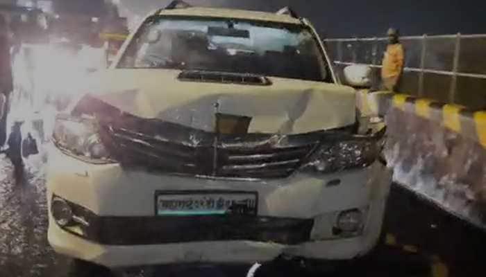 One injured as speeding bus hits five vehicles in Mumbai, badly damages three cars