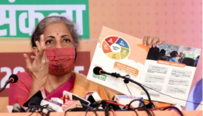 BJP releases poll manifesto for Bihar; RJD leader Tejashwi Yadav raises issues of special package, special state status