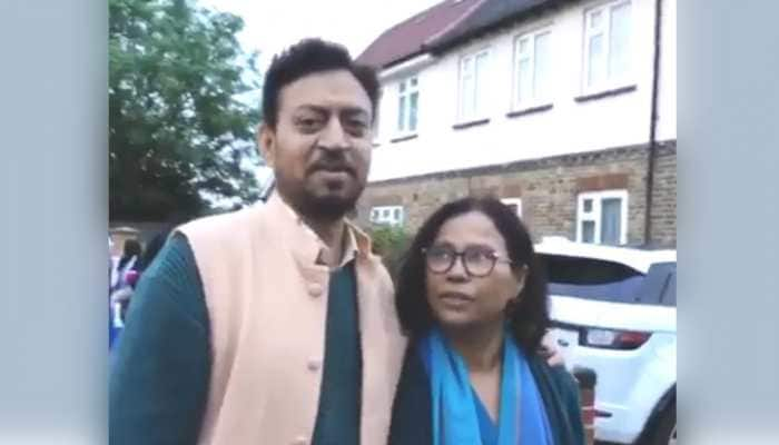 Irrfan Khan and wife Sutapa's old video where he is singing with her makes fans teary-eyed, son Babil recalls good times - Watch