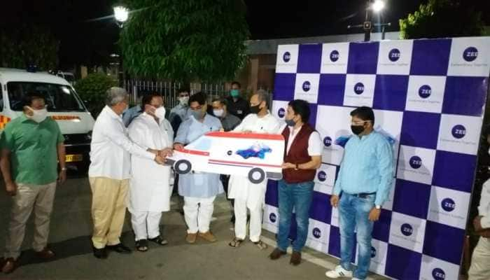 ZEEL donates 20 ambulances, 4000 PPE kits to Rajasthan govt to fight against COVID-19