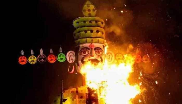 Dussehra: 70-feet eco-friendly Ravana effigy for Ayodhya Ramlila