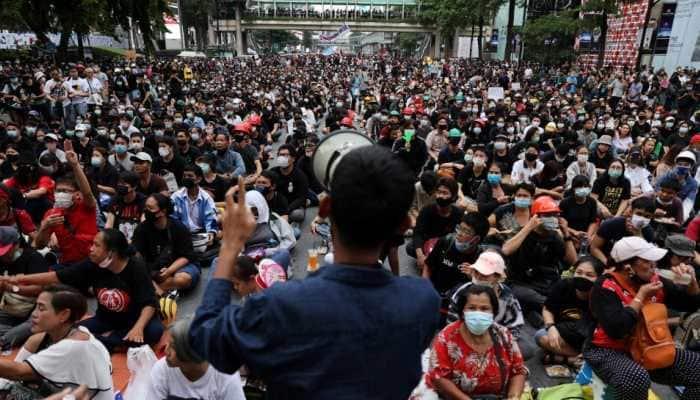 Protesters return to Bangkok streets to pressure PM Prayuth Chan-ocha