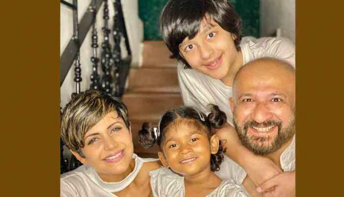 Mandira Bedi, husband adopt baby girl, share photo, adorable posts — Check