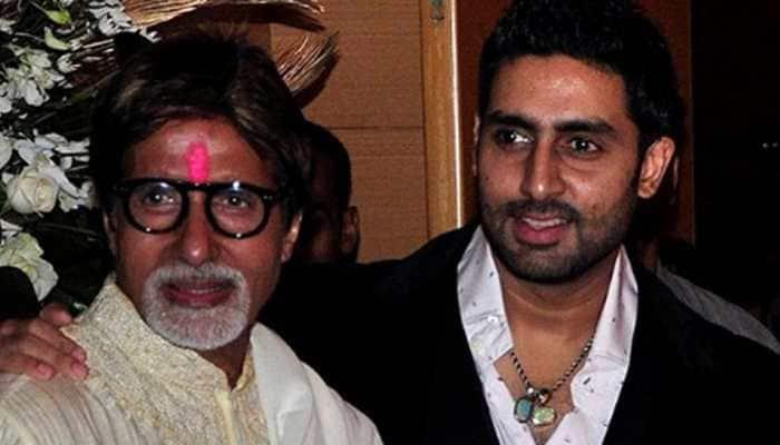 Abhishek Bachchan denies reports of dad Amitabh Bachchan being hospitalised, says 'must be his duplicate'