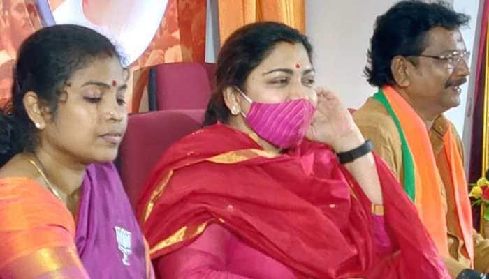 Manusmriti says men should protect women: BJP leader Khushbu Sundar counters Thirumavalavan