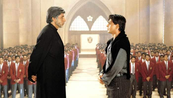 I realised how short I am while shooting with Amitabh Bachchan: Shah Rukh Khan
