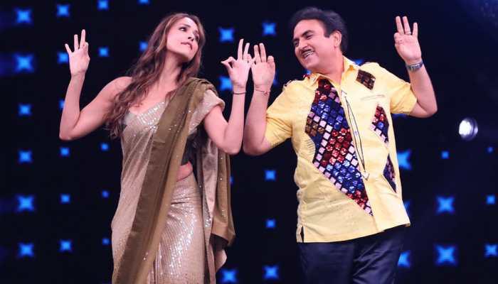 Taarak Mehta Ka Ooltah Chashmah's Jethalal aka Dilip Joshi danced with Malaika Arora on India's Best Dancer and we are loving it! See pics