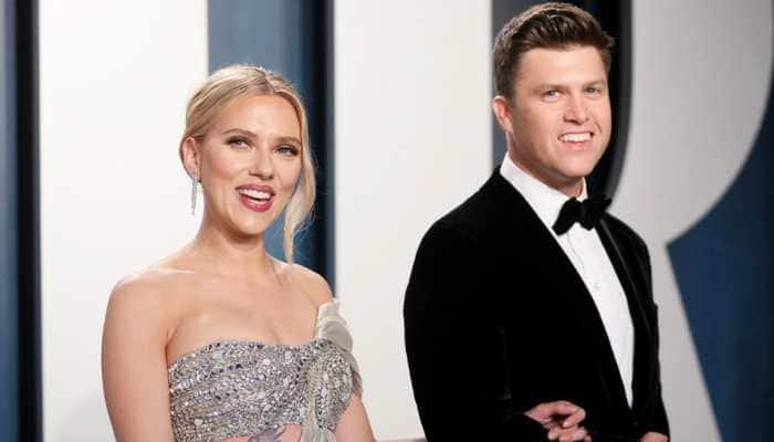 Scarlett Johansson ties knot with comedian Colin Jost!