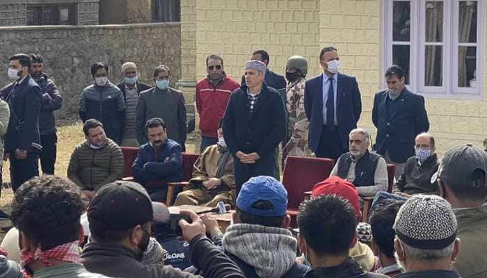 Omar Abdullah-led Gupkar delegation visits Ladakh, meets local leaders