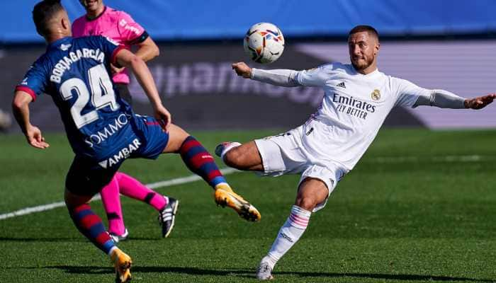 La Liga: Eden Hazard scores on return as Real Madrid thump Huesca 4-1