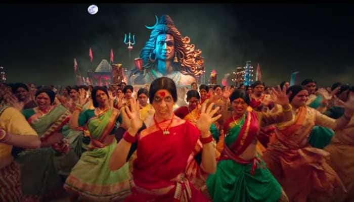 Akshay Kumar looks electrifying and fierce in 'Bam Bholle' song from 'Laxmii' - Watch
