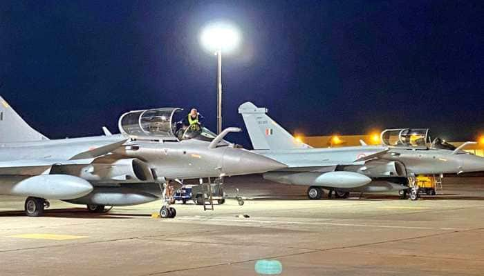 Second batch of three Rafale fighter jets arrive in India after flying non-stop from France, says IAF
