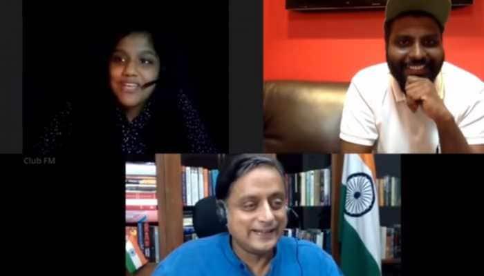Shashi Tharoor meets his match! Teenager baffles Congress MP as she tosses words he hasn't heard of