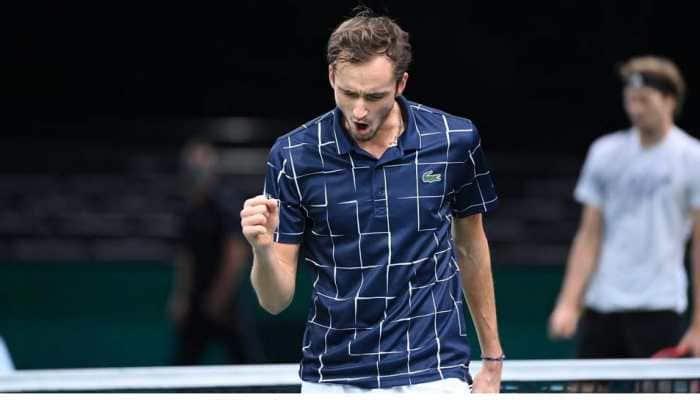 Daniil Medvedev wears down Alexander Zverev in Paris to claim third Masters title