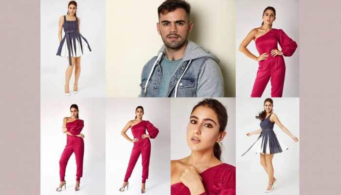 Sara Ali Khan glams for Coolie No.1 promotions, French stylist Florian Hurel collabs with her!