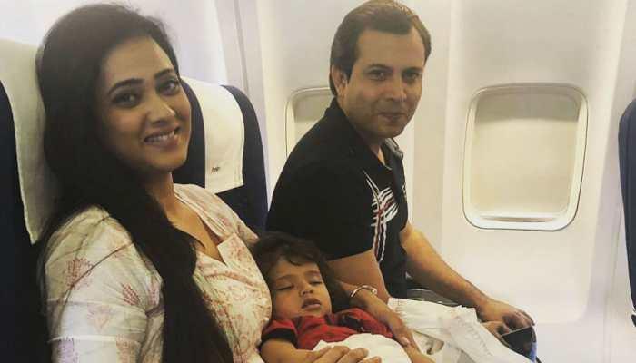 In viral video, Shweta Tiwari's estranged husband Abhinav Kohli claims she didn't let him meet their son Reyansh