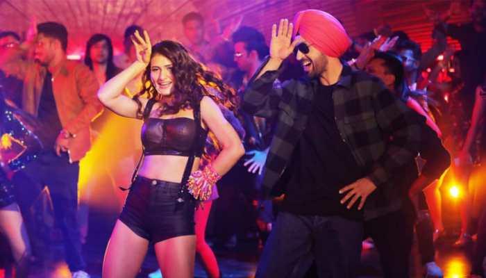 Diljit Dosanjh and Fatima Sana Shaikh's peppy dance number Ladki Dramebaaz Hai is out - Watch
