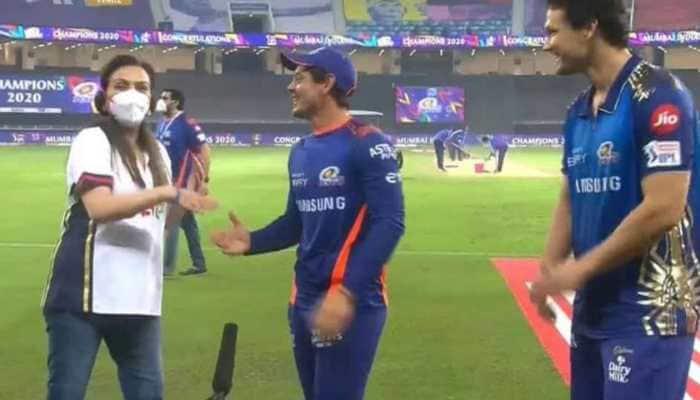 IPL 2020 Final: Nita Ambani left embarrassed after hilariously crashing Mumbai Indians' player's interview, Watch here!