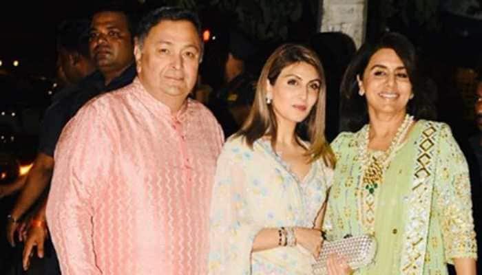 Riddhima Kapoor Sahni misses dad Rishi Kapoor on Diwali, shares throwback pic with mom Neetu Kapoor!