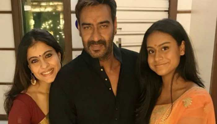 Ajay Devgn and Kajol's daughter Nysa Devgan's reactions to pics from her family's Diwali festivities is all of us
