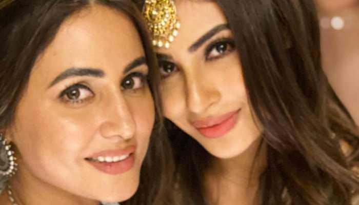 Hina Khan, Mouni Roy and other stars shine at Ekta Kapoor's Diwali bash, see inside pics