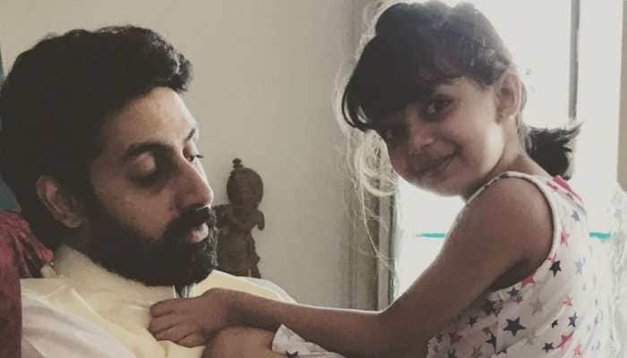 This pic of Aaradhya Bachchan with dad Abhishek Bachchan will melt your heart a little!