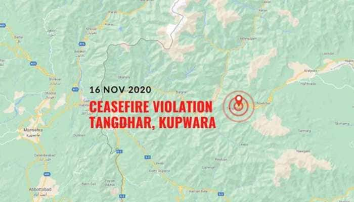 Pakistan violates ceasefire along LoC in Jammu and Kashmir's Kupwara district, Indian Army gives befitting response