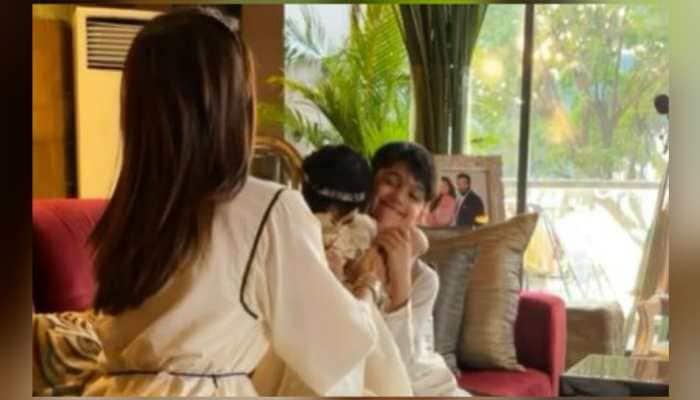 This video of Shilpa Shetty's kids Samisha and Viaan celebrating Bhai Dooj is the cutest thing on internet today!