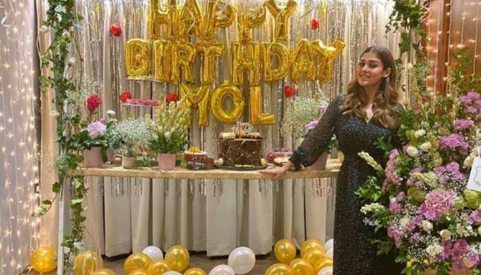 Inside south sensation Nayanthara's birthday, beau Vignesh Shivan shares pics