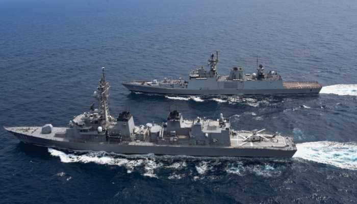 Second phase of Malabar exercise concludes in Arabian sea