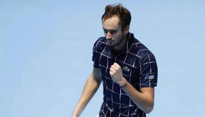 ATP Finals: Daniil Medvedev eases past Diego Schwartzman to set up semi-final tie against Rafael Nadal