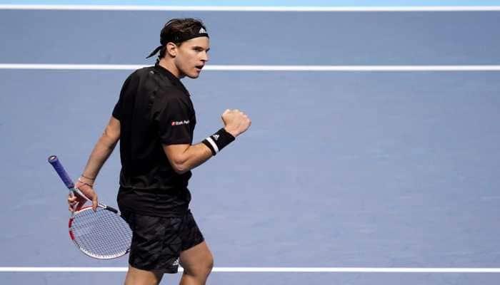 ATP World Tour Finals: Dominic Thiem reaches decider after nail-biting win over Novak Djokovic