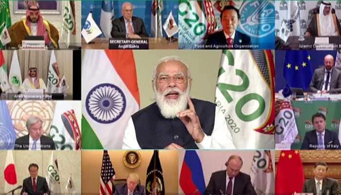 G20 summit: PM Narendra Modi terms COVID-19 biggest challenge since World War II; calls for new global index post-corona