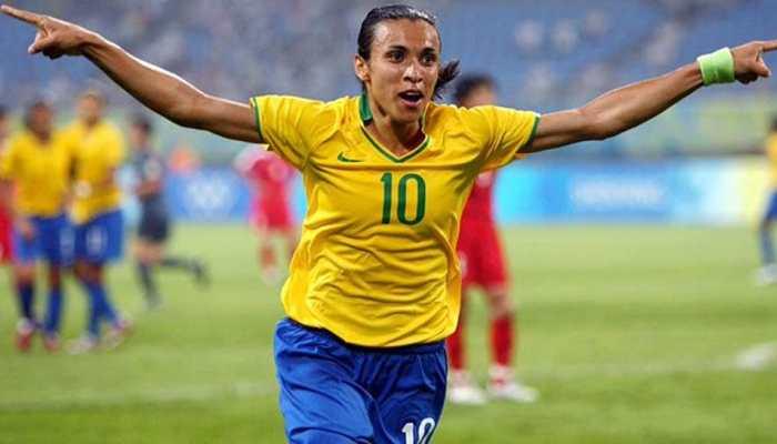 Brazilian football star Marta diagnosed with coronavirus