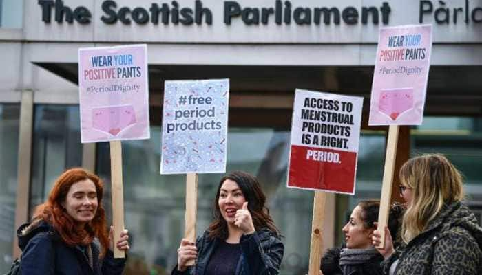 Scotland becomes first country in the world to make sanitary products free for women