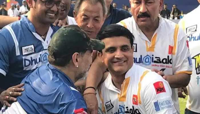 Maradona dies at 60: When the legend visited India to play match vs Sourav Ganguly