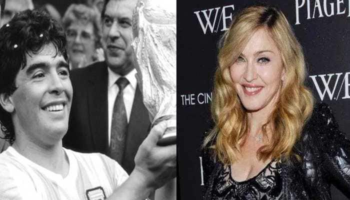 Diego Maradona dies, Twitterati confuses pop singer Madonna with Argentine great
